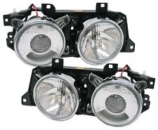 BMW E34 E-34 5-Series 1989-1995 Chrome Projector Head Lights Ellipsoid DEPO