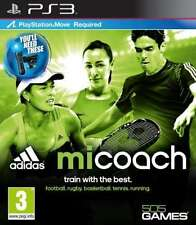 miCoach - Sony Playstation 3 - PS3 - New/Sealed (slightly torn cellophane)