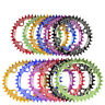 BCD 104 MTB Bike Narrow Wide Round Oval Chainring Chain Ring 32 34 36 38T DECKAS