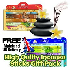 Incense Sticks Incense Joss Incense, Gift Pack Combo Mix 80 Sticks Hand Crafted