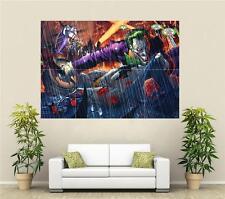 Batman & Joker Huge Poster A248