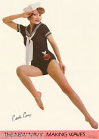 POSTER: THE NEW NAVY - CAROLE CASEY - SEXY FEMALE MODEL  -  #14-354  RC2 M