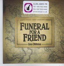 (AQ170) Funeral For A Friend,  Into Oblivion - DJ CD