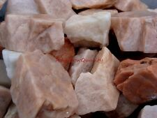 Natural PINK MOONSTONE, 1 Lb Lots, Great for Cabbing, Tumbling, Lapidary Project