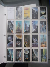 Race into Space rare card set 1971