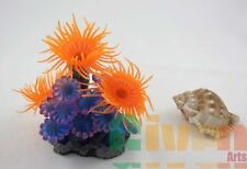 Aquarium Fish Tank Silicone Sea Anemone Artificial Coral Ornament MI403C