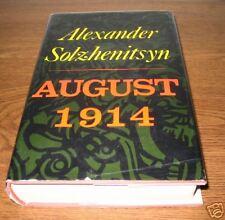 AUGUST 1914 Alexander Solzhenitsyn First 1st Am Edition