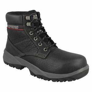 LADIES CATERPILLAR DRYVERSE LEATHER STEEL TOE LACE UP SAFETY WORK BOOTS P306996