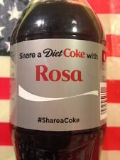 Share A Diet Coke With Rosa Limited Edition Coca Cola Bottle 2014 USA