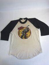 VTG April Wine Tour T-shirt Size L 80s Rock Heavy Metal AC/DC Iron Maiden
