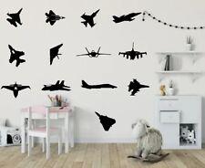 Fighter Plane Kids Bedroom Vinyl Art Wall Décor Sticker Decal Removable X13
