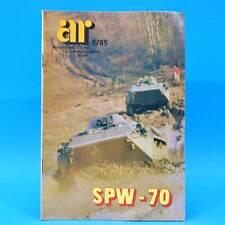 Armeerundschau 9-1985 NVA Volksarmee DDR R SPW-70 AN-124 Aniko Volksmarine ABC