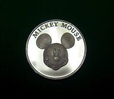 Mickey Mouse, Disney .999 Silver,1 oz Medallion, 1928 to 1998 Birthday Coin 70th