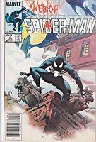 WEB OF SPIDER-MAN#1 VF/NM 1984 NEWSSTAND EDITION MARVEL COMICS