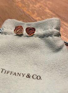 Tiffany & Co. Return To Heart Earrings Rose Gold 18K 750