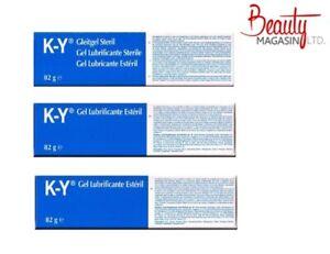 3 x Pack Ky Jelly Lubricating Gel New 82g K-Y Brand Genuine UK Stock