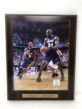 Magic Johnson Kobe Bryant LEGACY SERIES 6 Card Collector Plaque w//8x10 Photo