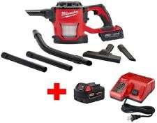 Milwaukee Cordless Compact Vacuum Dust Wood Metal M18 18-Volt Battery Charger