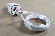 QUICK IPHONE CHARGER 3.0 Rapid Fast Car + Lightning USB Cable X XR XS 7 8 Plus
