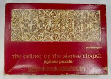 The Ceiling Of The Sistine Chapel Vintage 1967 Jigsaw Puzzle Michelangelo (O)