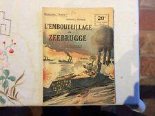 Collection Patrie : l embouteillage de zeebrugge