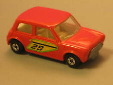 1970 Matchbox Superfast Racing Mini #29 Made in England Lesney