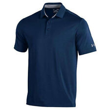 UNDER ARMOUR GOLF MEN'S PERFORMANCE PLAYOFF POLO SHIRT NAVY SIZE: M NEW!! 18465