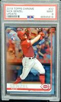 2019 Topps Chrome Update Red RC Star NICK SENZEL Rookie Card PSA 9 Low Pop