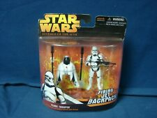 Star Wars Revenge Of The Sith Firing Jet Backpack Clone Trooper Hasbro 2005