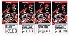 Radio X de Québec - Lot 4 billets matchs de Hockey - 2003