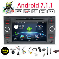 Android 7.1 Autoradio GPS Navi Car DVD für Ford Galaxy Kuga Fiesta Focus Fusion