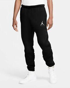 Nike Men's Air Jordan Jumpman Air Fleece Pants Black/White CK6694-010 f