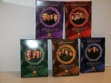 STARGATE DVD MGM 2006 Complete Series, Seasons 1-10, 10 Box Sets, 49 Discs *WOW*