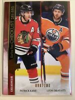 2020-21 Upper Deck Series 2 Checklist Exclusives 098/100 Kane Leon Draisaitl