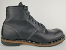 $349 RED WING 9014 Beckman Round 6-Inch Boot Black Featherstone Leather Sz 12 D