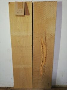 2 Eichenbretter Bohlen Kammergetrocknet Eichenholz  100cm deco