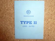 VW Käfer Type 11 Typenschein, Oldtimer
