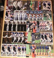 (117) JEFF BAGWELL MIXED BASEBALL CARD LOT VERY NICE MUST SEE!!