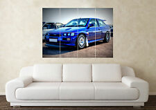 Large Ford Escort RS Cosworth Turbo CVH YB S1 S2 Wall Poster Art Picture Print