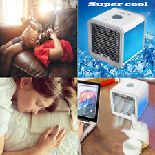 Mini Air Conditioner Small Fan Cooling USB Rechargeable Portable Cooler Desktop