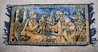 """vintage Tapestry Jesus Mary & Joseph, 39 x 20.5"""""""