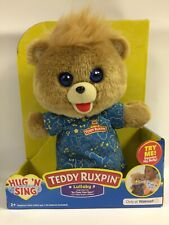New w/ Bent Box Teddy Ruxpin Hug 'N Sing Singing Stuffed Bear w/ Lullabies