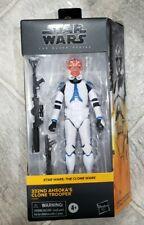 "*Walmart Exclusive* Star Clone Wars 332nd Ahsoka CLONE TROOPER 6"" Black Series"