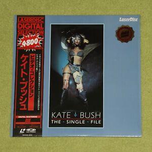 KATE BUSH The Single File - RARE 1989 JAPAN LASERDISC + OBI (Cat No. SM048-3292)