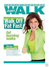 Leslie Sansone JUST WALK - WALK OFF FAT FAST (DVD) workouts 20 30 40 minute burn