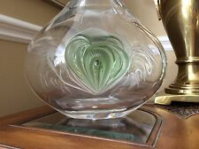 LALIQUE french fine crystal vase Tresses LIMITED EDITION no 85/99 art glass