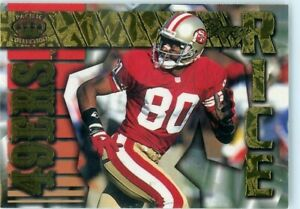 1996 Pacific Gems of the Crown Jerry Rice HOF