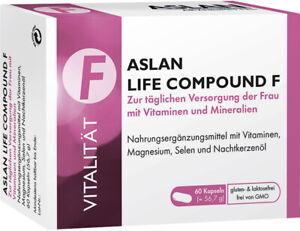 ASLAN Life Compound F - Multivitalstoffpräpärat für Frauen mit Nachtkerzenöl