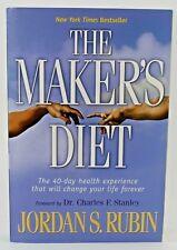 The Maker's Diet Jordan Rubin Paperback Book 40 Day Health Experience