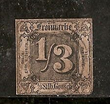 Germany Northern District Stamp - Scott #2/A1 1/3sgr Canc/H 1858 Scott $275.00